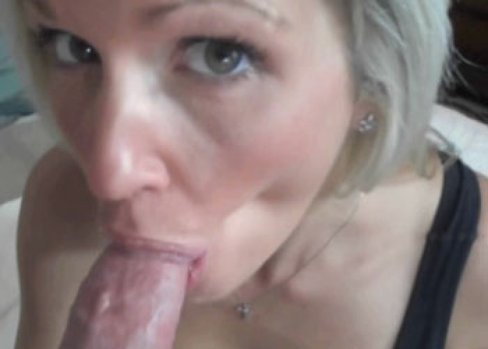 Mom Helps Son Cum Blowjob