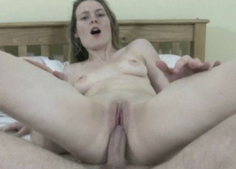 Teen slut Jessie fucks an older guy